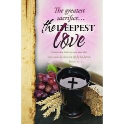 Bulletin-The Greatest Love...