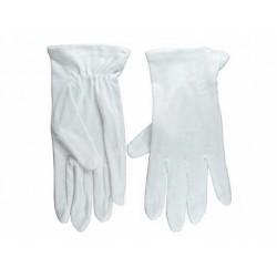 Gloves-Usher Solid White...