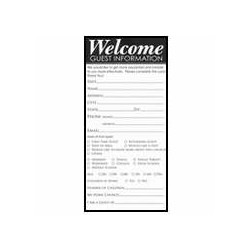 Guest Card-Welcome: Guest...