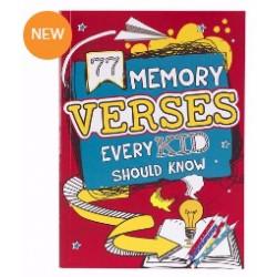 77 Memory Verses Every Kid...