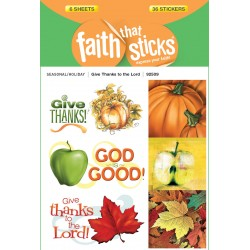 Sticker-Give Thanks To The...