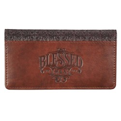 Checkbook Cover-Blessed...