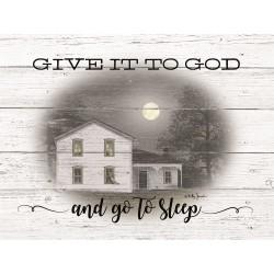 Framed Art-Give It To God...