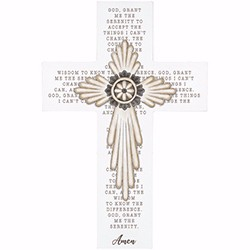 Wall Cross-Serenity Prayer...