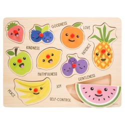 Peg Puzzle-Fruit Of The...
