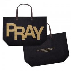 Tote Bag-Pray 1 Thess...