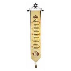 Banner-Ten Commandments...