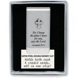 Money Clip-Cross-For I Know...