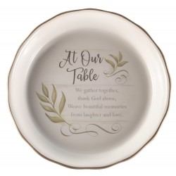Pie Plate-At Our Table...