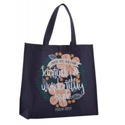 Tote Bag-Nylon-Wonderfully...