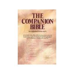 KJV Companion Bible-Black...