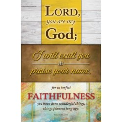 Bulletin-Lord  You Are My...