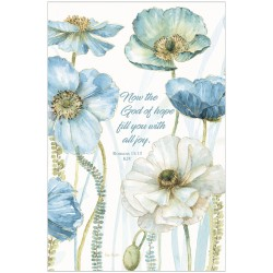 Journal-Blue And White...