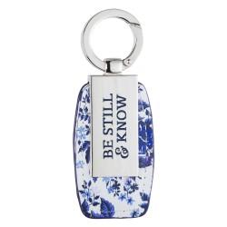 Keyring-Be Still w/Gift Tin
