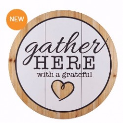 Wall Plaque-Gather Here (18...