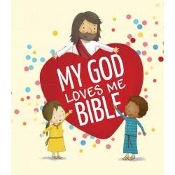My God Loves Me Bible Board...
