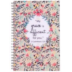 Notebook-Wirebound-My Grace...