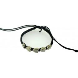 Bracelet-Black Cotton...