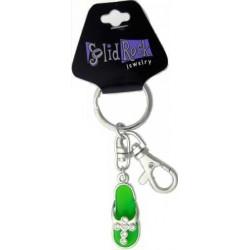 Key Chain/Bag Charm-Green...