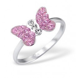Ring-Butterfly w/Crystal...