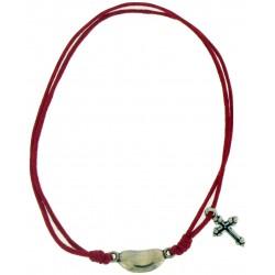 Bracelet-Fuchsia Cotton...