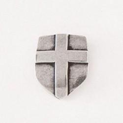 Lapel Pin-Shield-Pewter