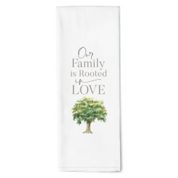 Tea Towel-Our Family Is...