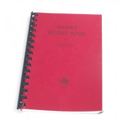 Finance-Record Book For...