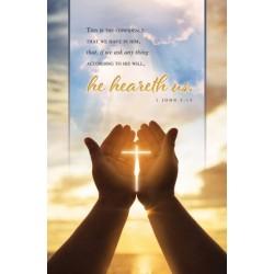Bulletin-He Heareth Us (1...