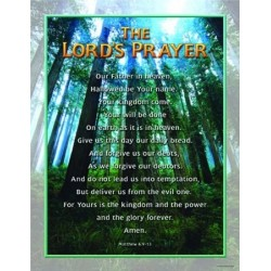 Chart-The Lord's Prayer...