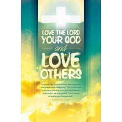 Bulletin-Love The Lord Your...