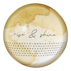 Paperweight-Glass-Rise &...
