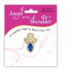 Birthstone Pin-Angel On My...