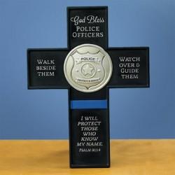 Cross-God Bless Police...