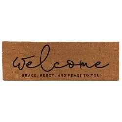 """Coir Doormat-Welcome (30"""" x..."""