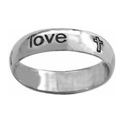 Ring-Cursive-True Love...