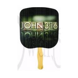 Hand Fan-John 3:16 (Pack of...