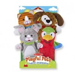 Hand Puppet Set-Playful...