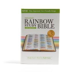 NIV Holman Rainbow Study...