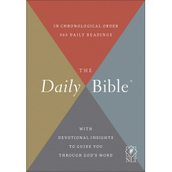 NLT Daily Bible-Hardcover