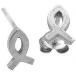 Earring-Ichthus-(Sterling...