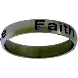Ring-Faith Hope Love-Style...