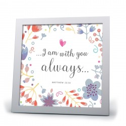 Plaque-With You Always (40729)