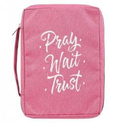 Bible Cover-Value-Pray Wait...