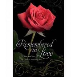 Bulletin-Remembered In Love...