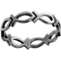 Ring-Cutout Ichthus-Style...