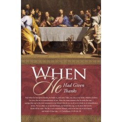 Bulletin-Communion: When He...