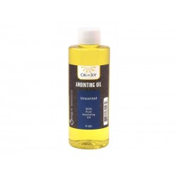 Anointing Oil-Unscented-4 Oz