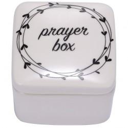 Prayer Box-Porcelain w/Poem...