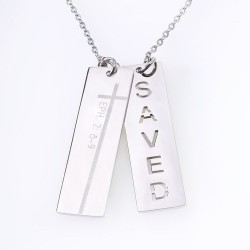 Necklace-Double Bar-Saved